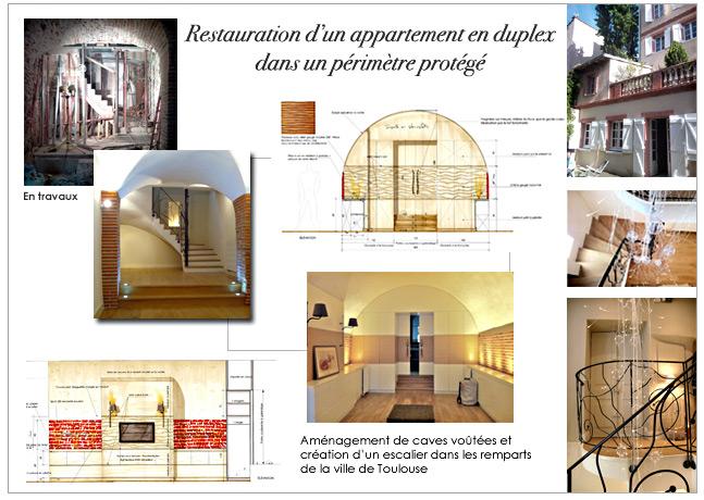 Architecture et d coration d 39 int rieur appartement en duplex - Appartement en duplex abraham architects ...