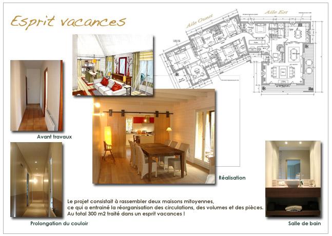Architecture et d coration d 39 int rieur maison de vacances - Maison de vacances christopher design ...