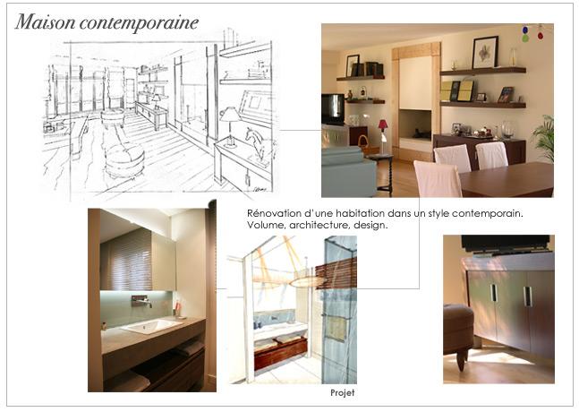 et décoration d\'intérieur: Maison contemporaine
